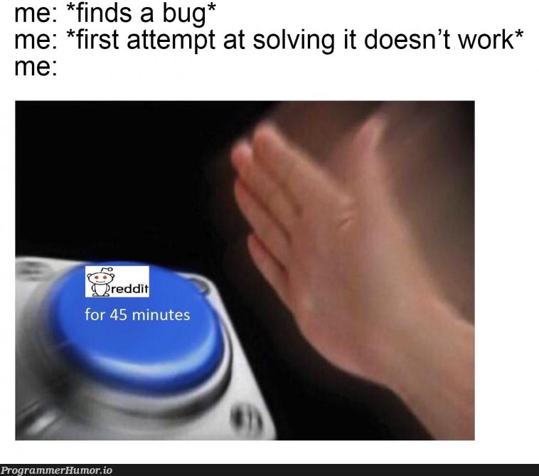 Hits too close to home   bug-memes, IT-memes   ProgrammerHumor.io