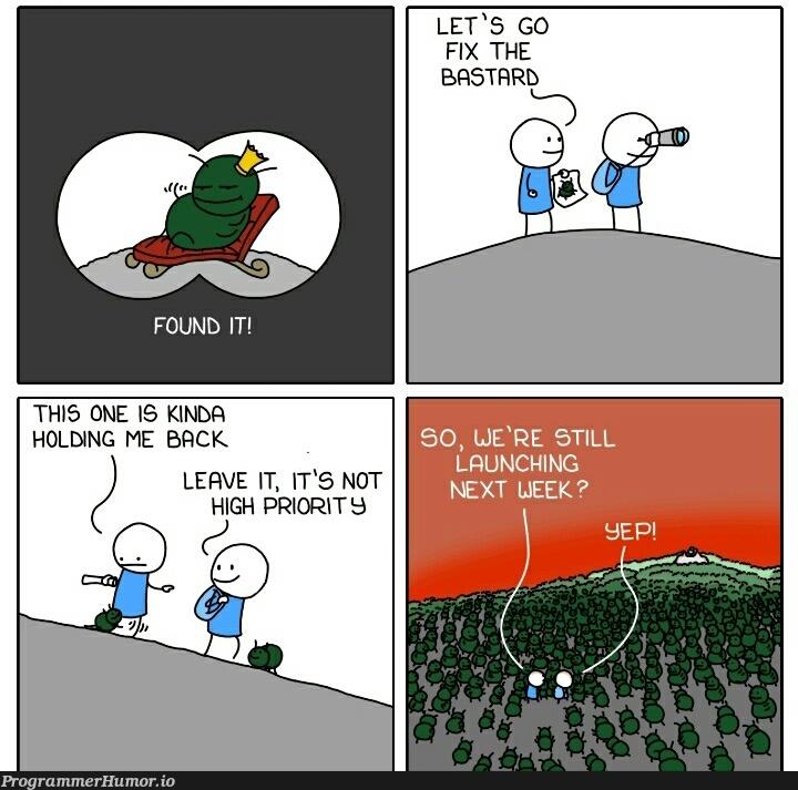Daily life...   fix-memes   ProgrammerHumor.io