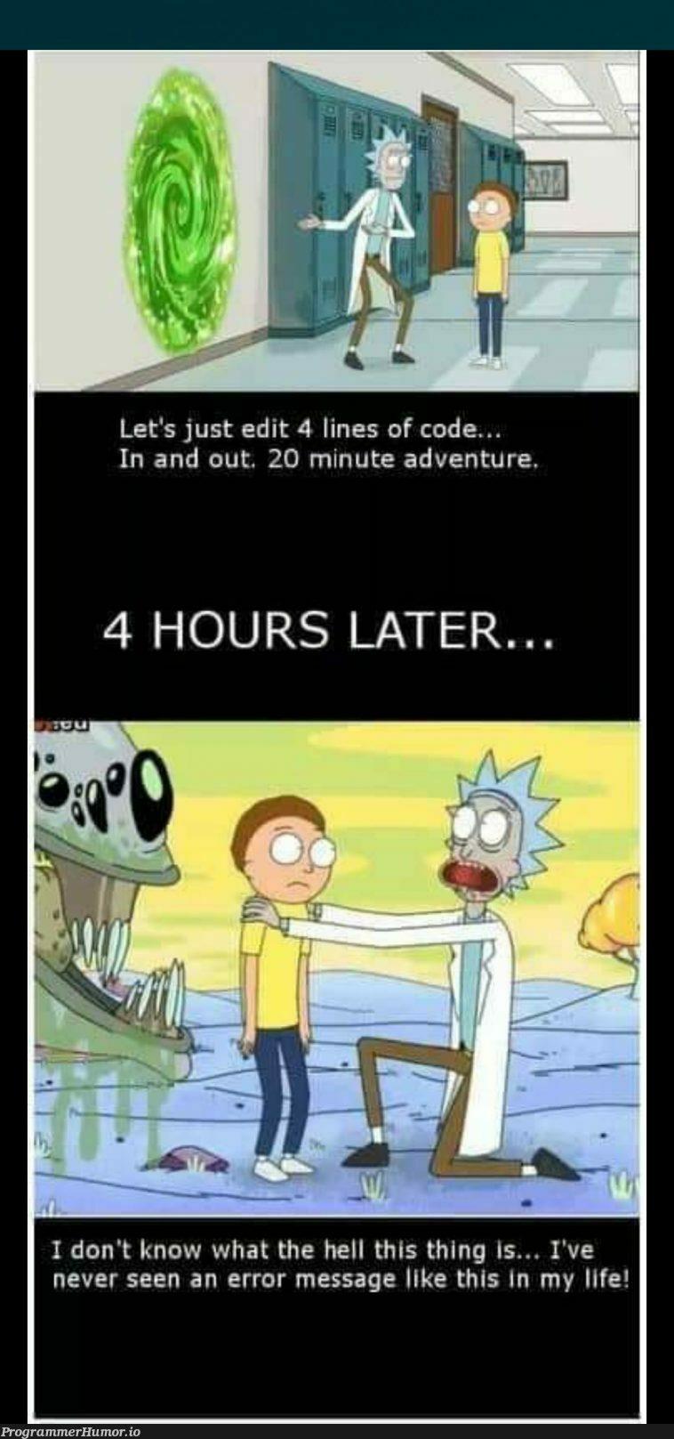 I'll fix it at night   code-memes, lines of code-memes, error-memes, fix-memes, IT-memes   ProgrammerHumor.io