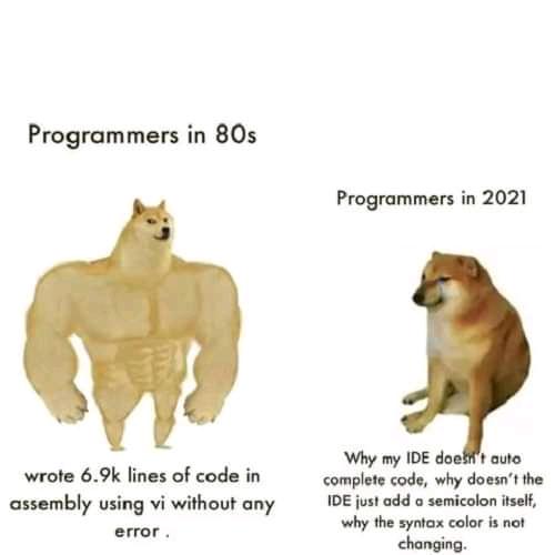 xD | programmer-memes, code-memes, program-memes, assembly-memes, lines of code-memes, error-memes, ide-memes, semicolon-memes | ProgrammerHumor.io