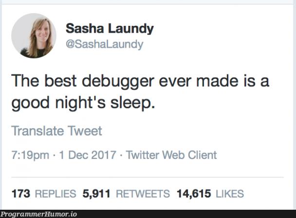 So true it hurts | web-memes, bug-memes, debug-memes, cli-memes, IT-memes, debugger-memes, twitter-memes, retweet-memes | ProgrammerHumor.io