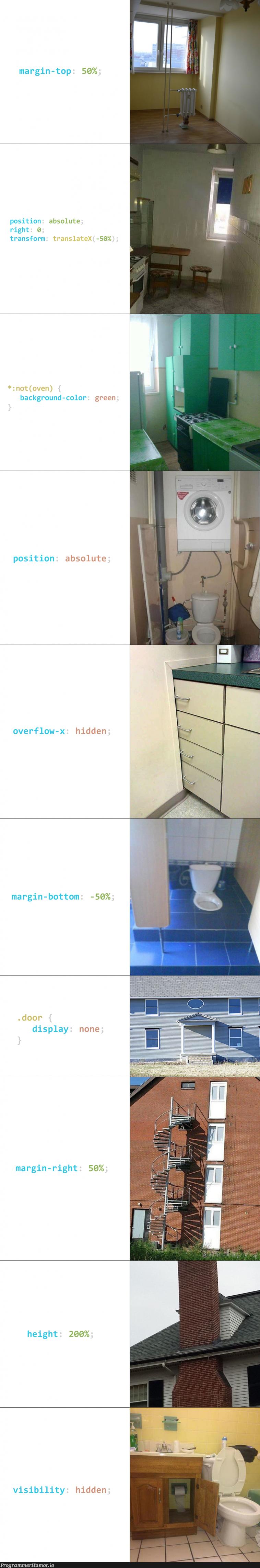 When bad frontends renovate houses   frontend-memes, overflow-memes, bot-memes   ProgrammerHumor.io
