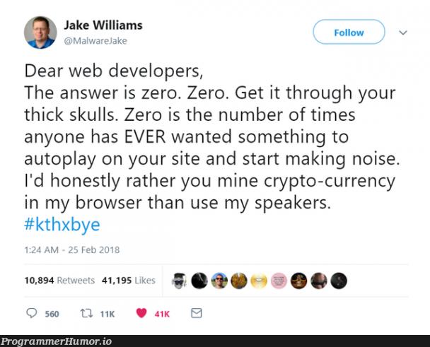 speaker ads   developer-memes, web developer-memes, web-memes, crypto-memes, IT-memes, crypto-currency-memes   ProgrammerHumor.io