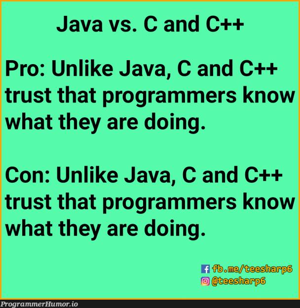 I C now | programmer-memes, java-memes, program-memes, c++-memes, c-memes, rust-memes | ProgrammerHumor.io