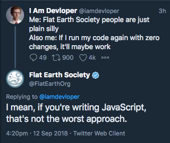 So, everyone is mocking js   javascript-memes, java-memes, web-memes, cli-memes, twitter-memes   ProgrammerHumor.io
