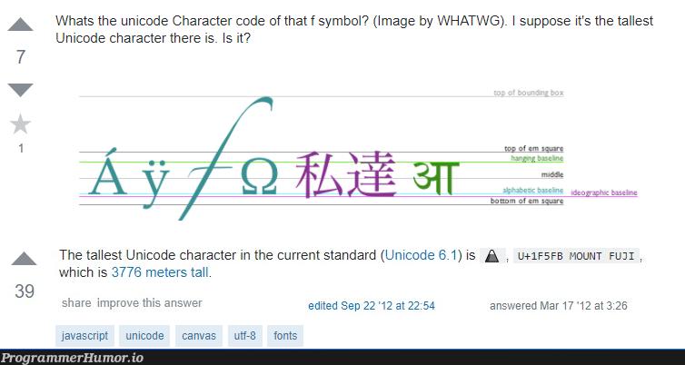 Well, he's not wrong... | javascript-memes, code-memes, java-memes, image-memes, unicode-memes | ProgrammerHumor.io