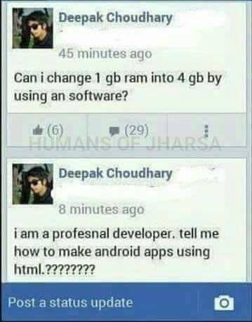 Professional developer   developer-memes, software-memes, android-memes   ProgrammerHumor.io