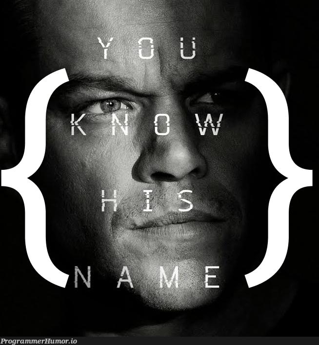JSON Bourne   json-memes   ProgrammerHumor.io