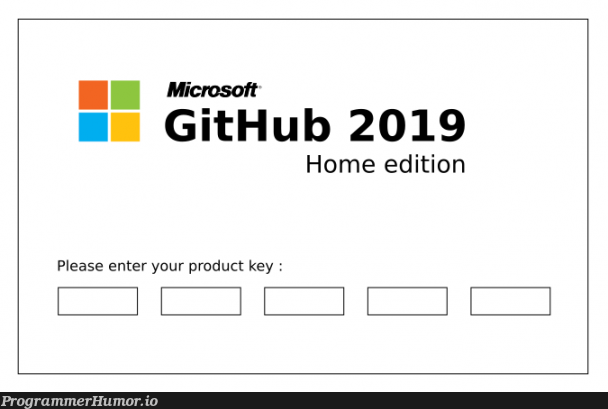 Tried to post this to r/github... boy, lots of Microsoft fanboys over there :)   git-memes, github-memes, microsoft-memes, product-memes   ProgrammerHumor.io