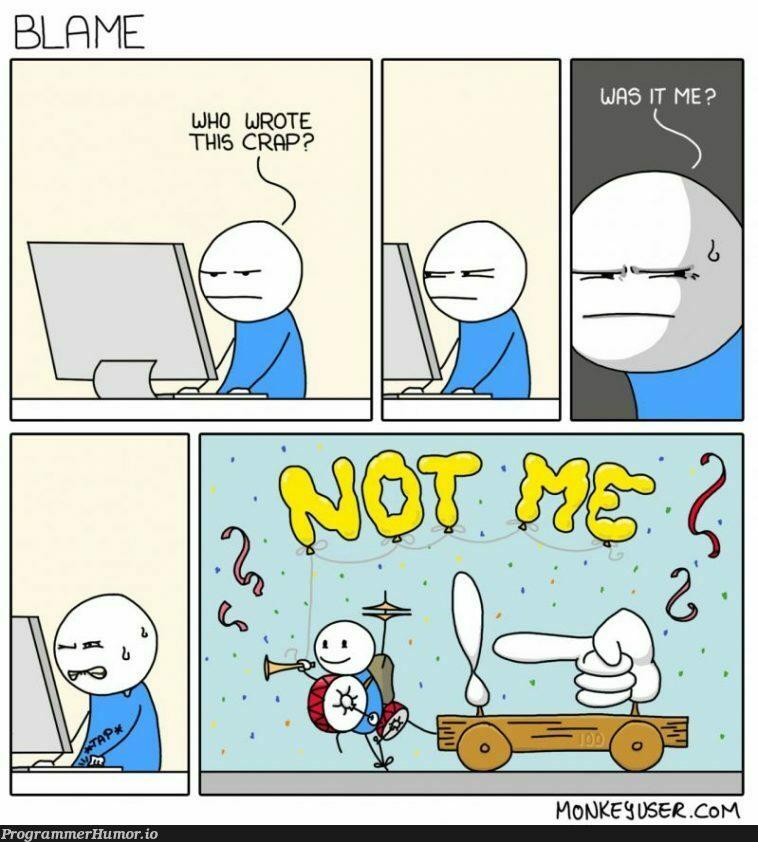 git-shame | git-memes | ProgrammerHumor.io