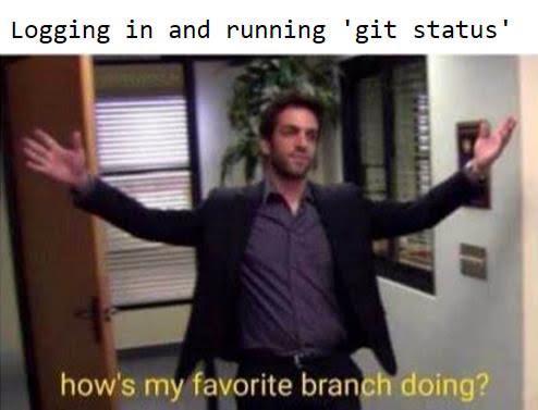 mornings   git-memes   ProgrammerHumor.io