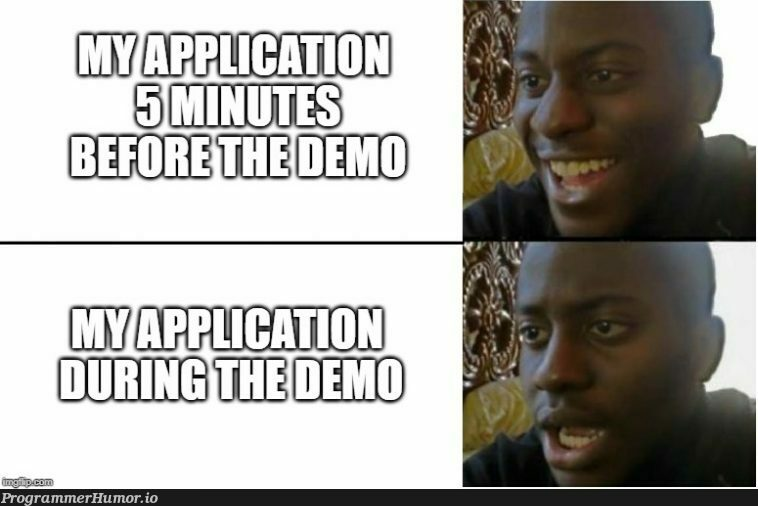 Every single time...   git-memes   ProgrammerHumor.io