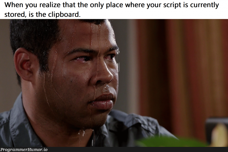 *careful not to press CTRL+C accidentally*   cli-memes, ide-memes   ProgrammerHumor.io