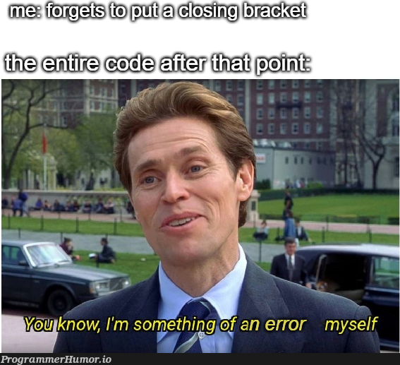 at least Vim doesn't think you're a mistake | vim-memes | ProgrammerHumor.io