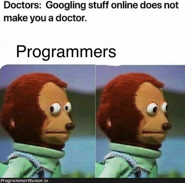 """""""What does that mean for me?""""   programmer-memes, program-memes   ProgrammerHumor.io"""