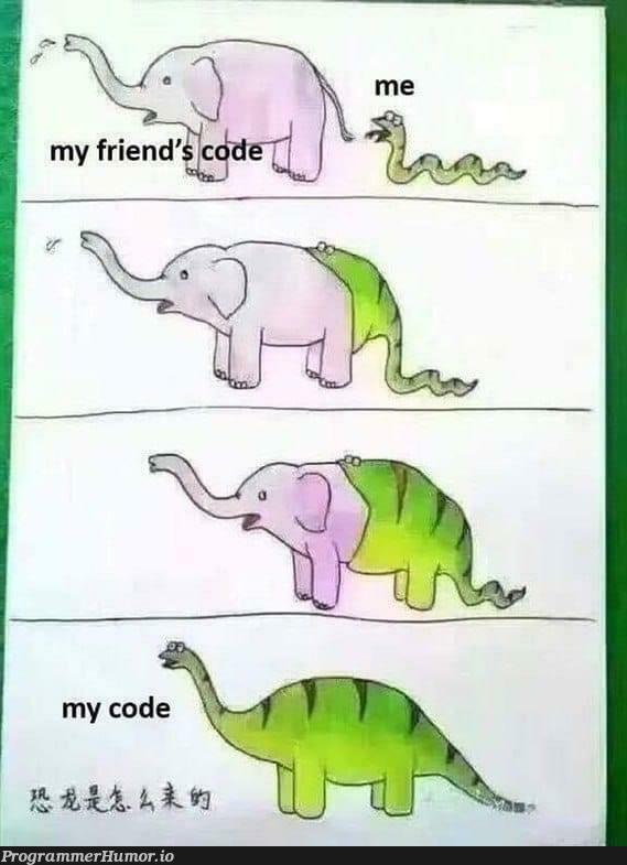 My code is always better   code-memes   ProgrammerHumor.io