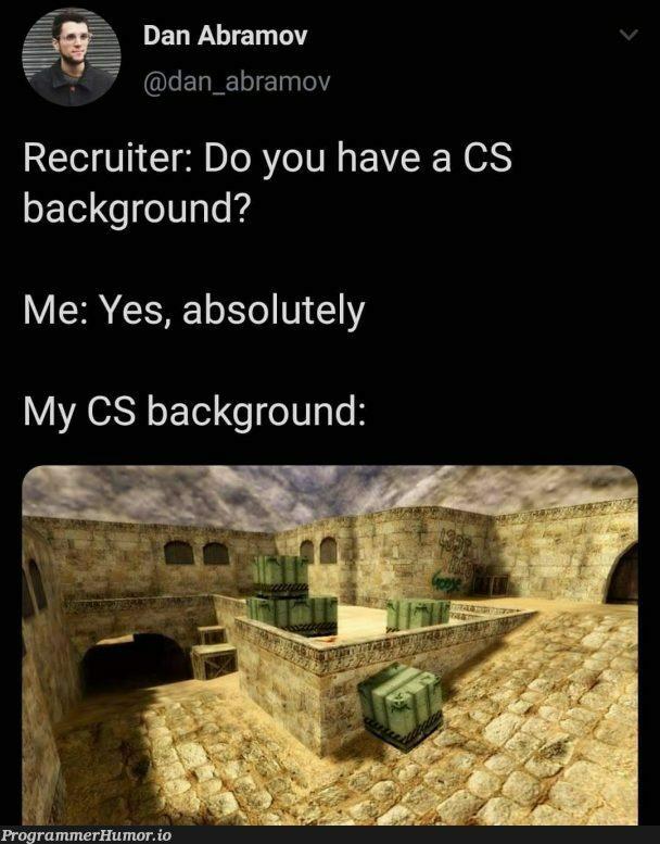 MEME | recruit-memes, cs-memes | ProgrammerHumor.io