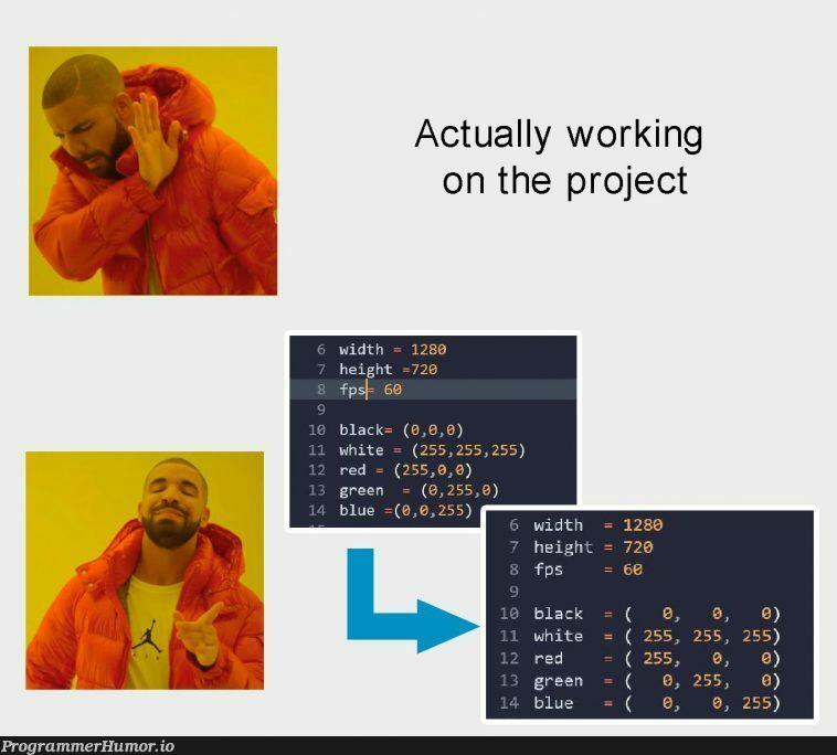 its important! | ProgrammerHumor.io