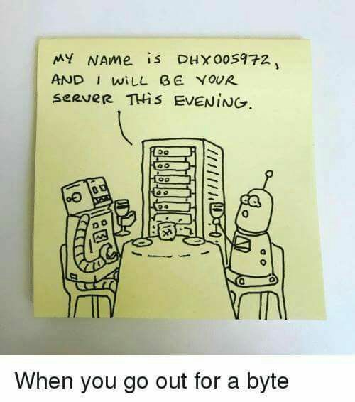 How can I serve you? | ProgrammerHumor.io