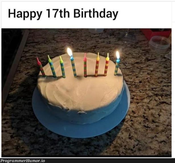 Happy birthday | ProgrammerHumor.io