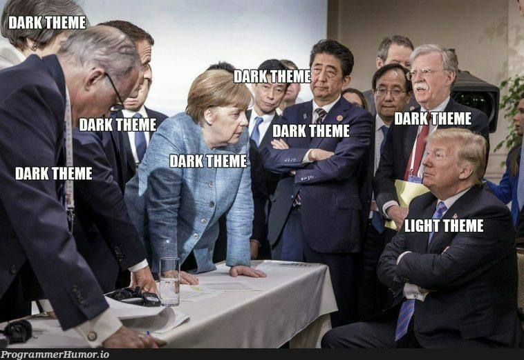 How it feels like using light theme for IDEs...   IT-memes, ide-memes   ProgrammerHumor.io