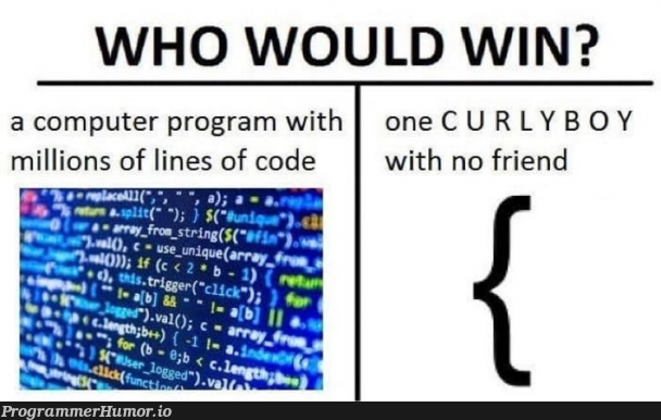 What do you think?   code-memes, computer-memes, program-memes, lines of code-memes, url-memes, curl-memes   ProgrammerHumor.io
