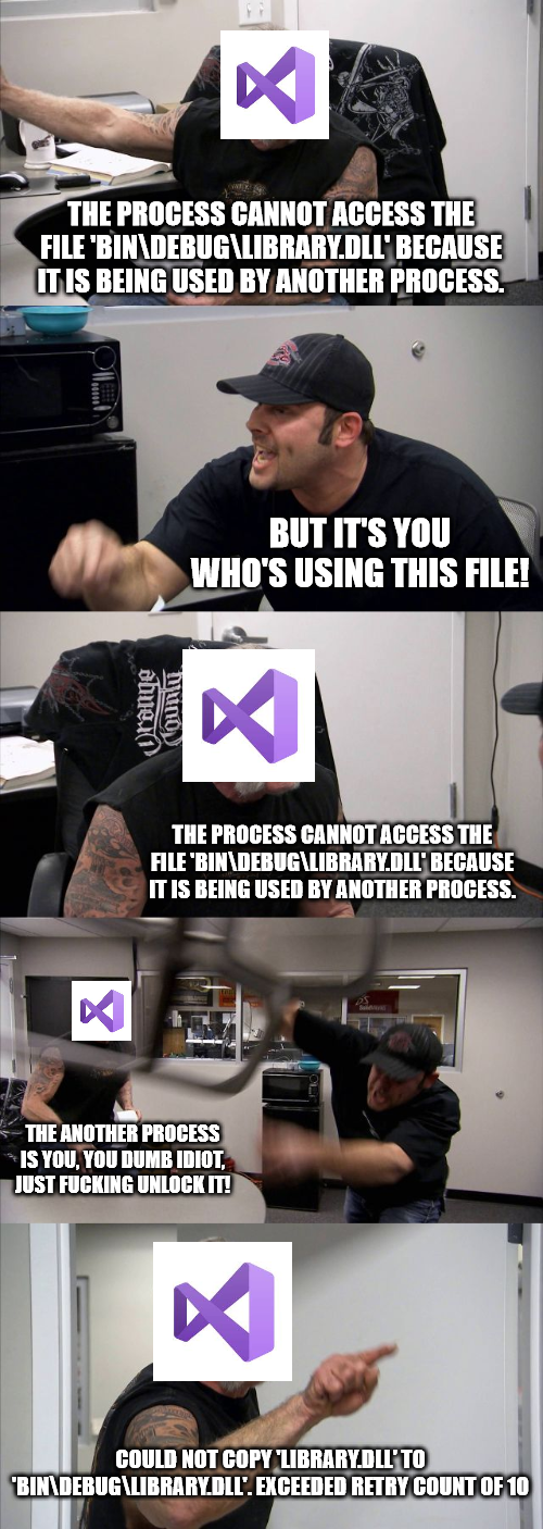 Classic visual studio | try-memes, visual studio-memes, class-memes | ProgrammerHumor.io