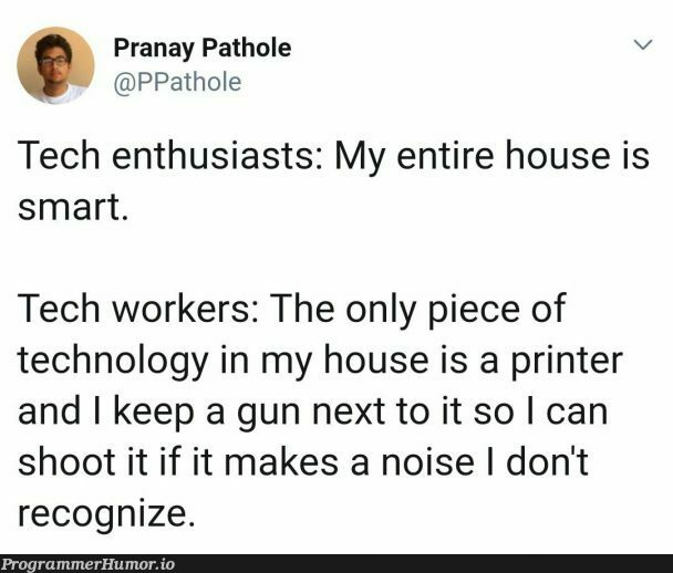 Relatable AF | tech-memes, technology-memes, IT-memes | ProgrammerHumor.io