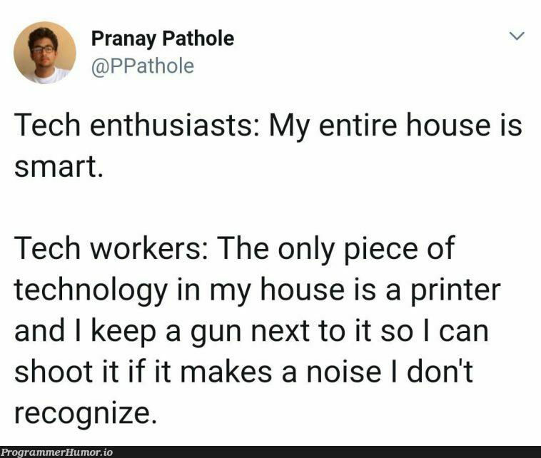Relatable AF   tech-memes, technology-memes, IT-memes   ProgrammerHumor.io