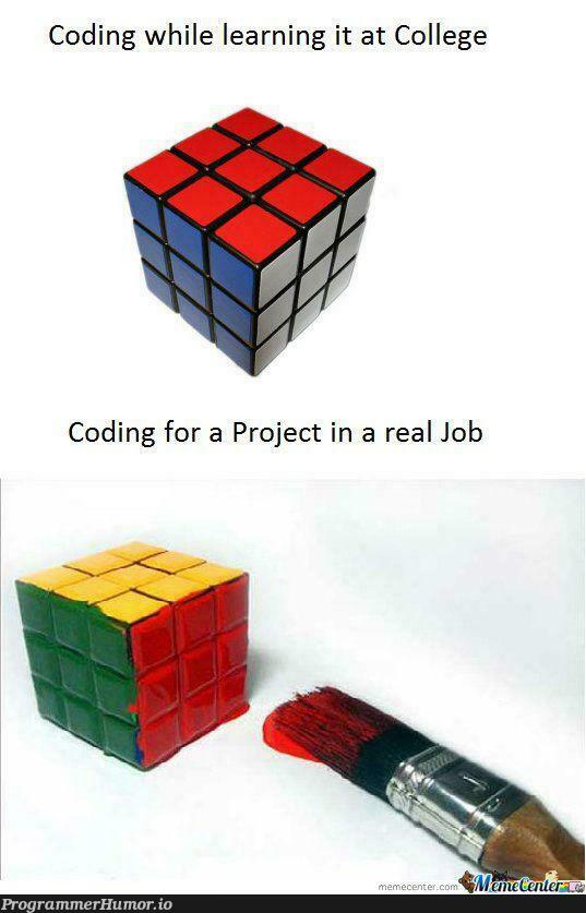 When you're coding for a project!   coding-memes, IT-memes   ProgrammerHumor.io
