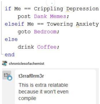 Sometimes Tumblr really gets me.   IT-memes   ProgrammerHumor.io