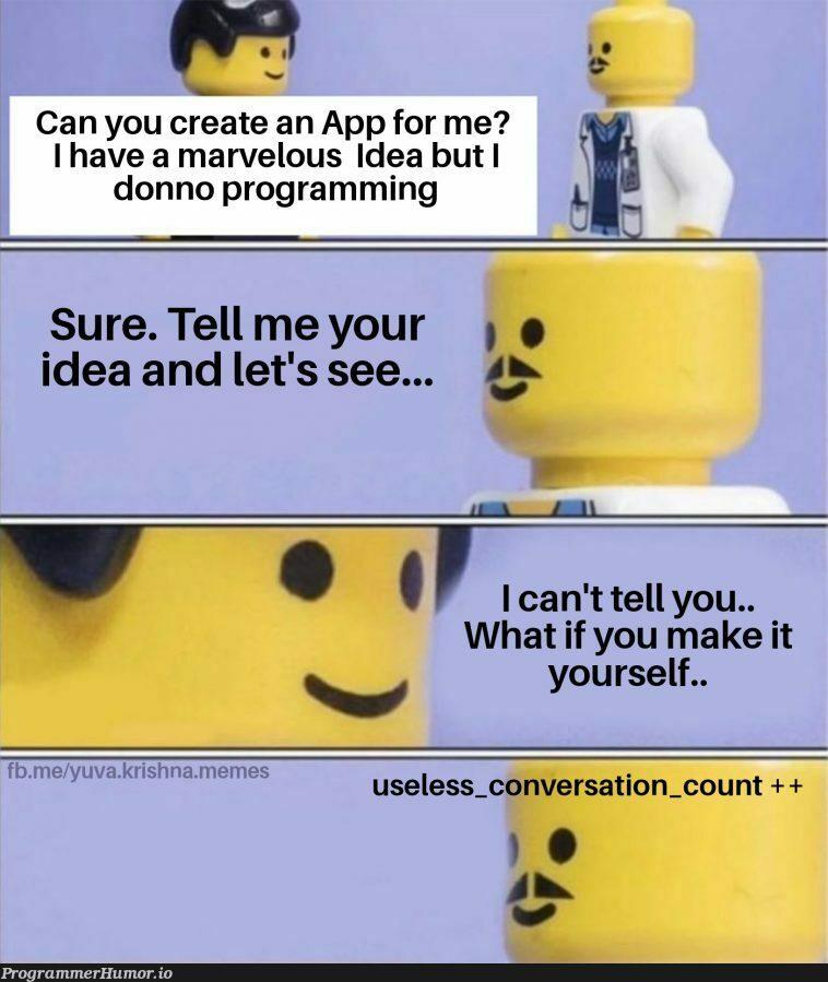 Everyone has one.. | programming-memes, program-memes, IT-memes, idea-memes, ide-memes | ProgrammerHumor.io