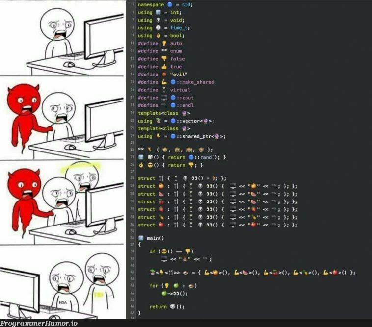 No. Stop it. Get some help | ProgrammerHumor.io