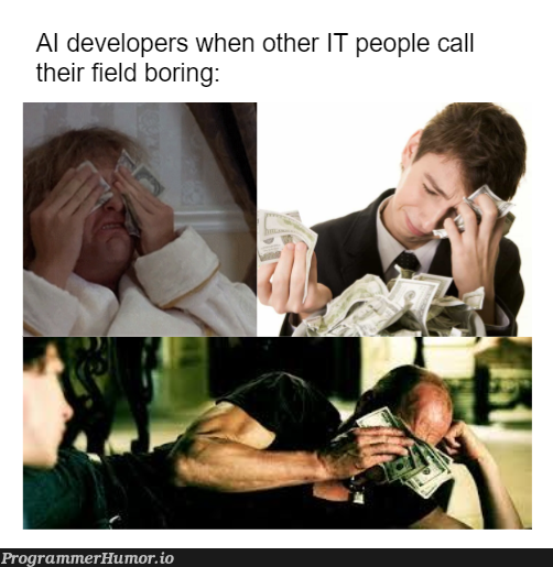 through statistics and fancy vocabulary, all things are possible | developer-memes, IT-memes, cs-memes | ProgrammerHumor.io