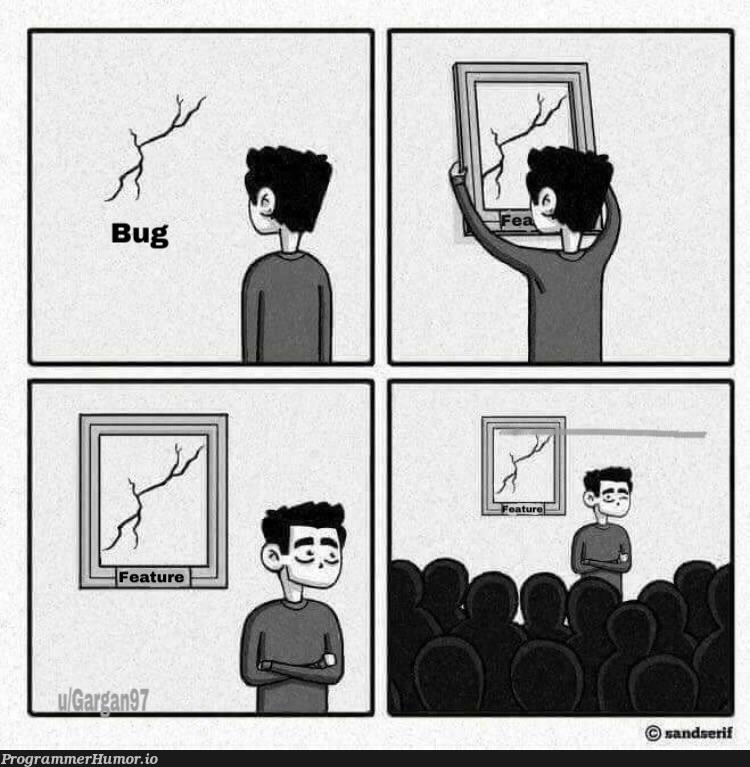 """How """"features"""" come along 