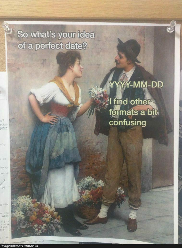 I saw this on my professors bulletin board | ProgrammerHumor.io