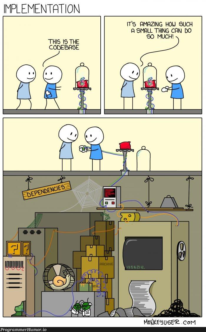 Implementation   code-memes   ProgrammerHumor.io