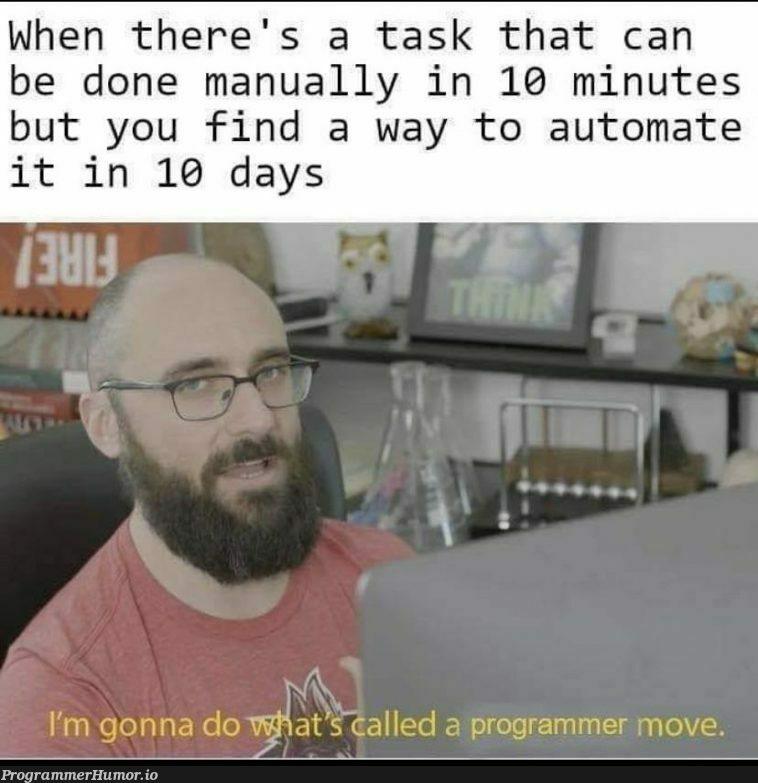 Sometimes my genius.......   IT-memes   ProgrammerHumor.io