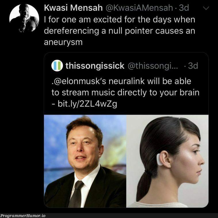 The downsides of biohacking | hacking-memes, ide-memes, stream-memes | ProgrammerHumor.io