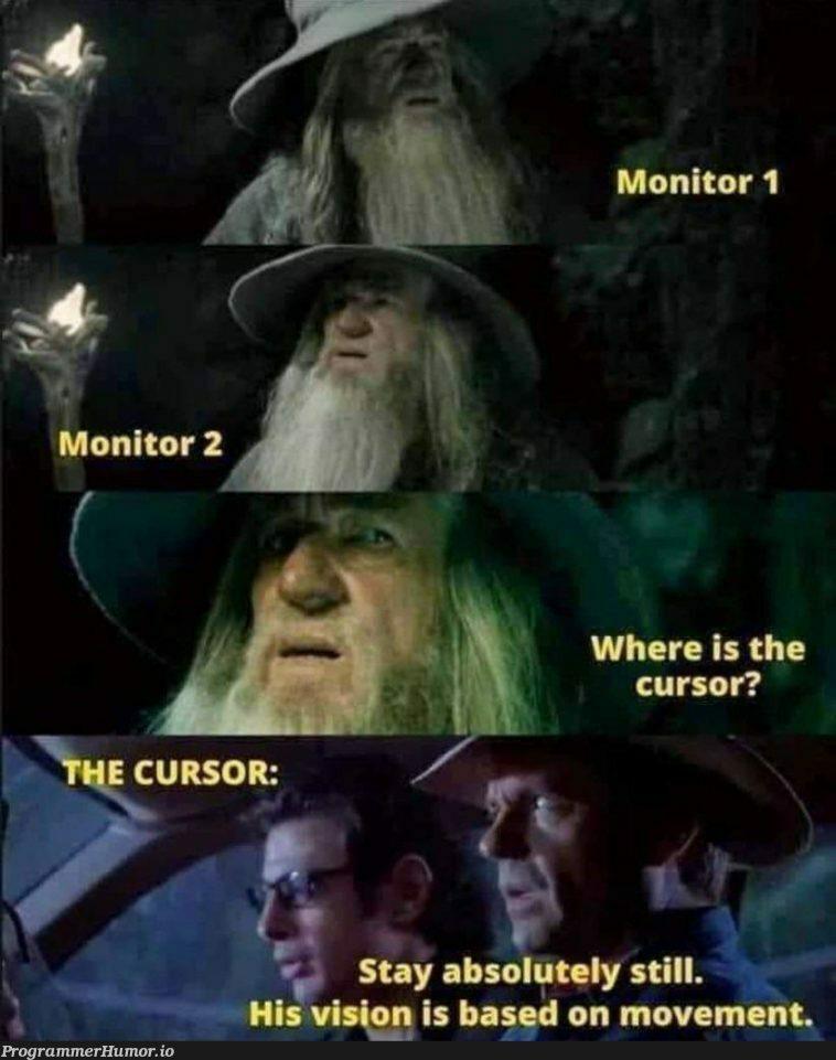 Where the ....!!!   monitor-memes   ProgrammerHumor.io