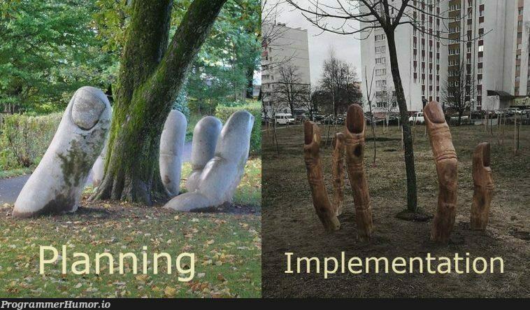 Plan vs Release | release-memes | ProgrammerHumor.io