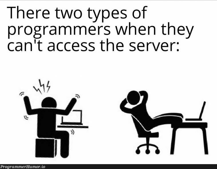 Two different perspectives   programmer-memes, program-memes, server-memes   ProgrammerHumor.io