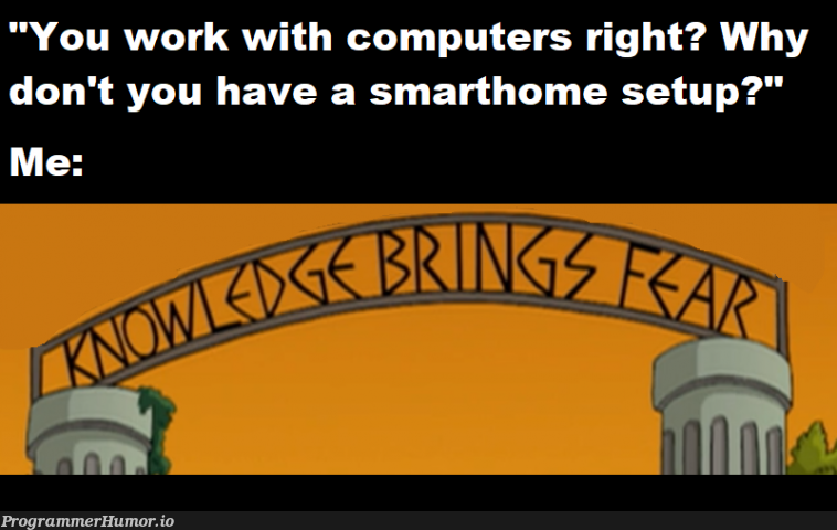 It's not that I'M insecure, it's that every device is   computer-memes   ProgrammerHumor.io