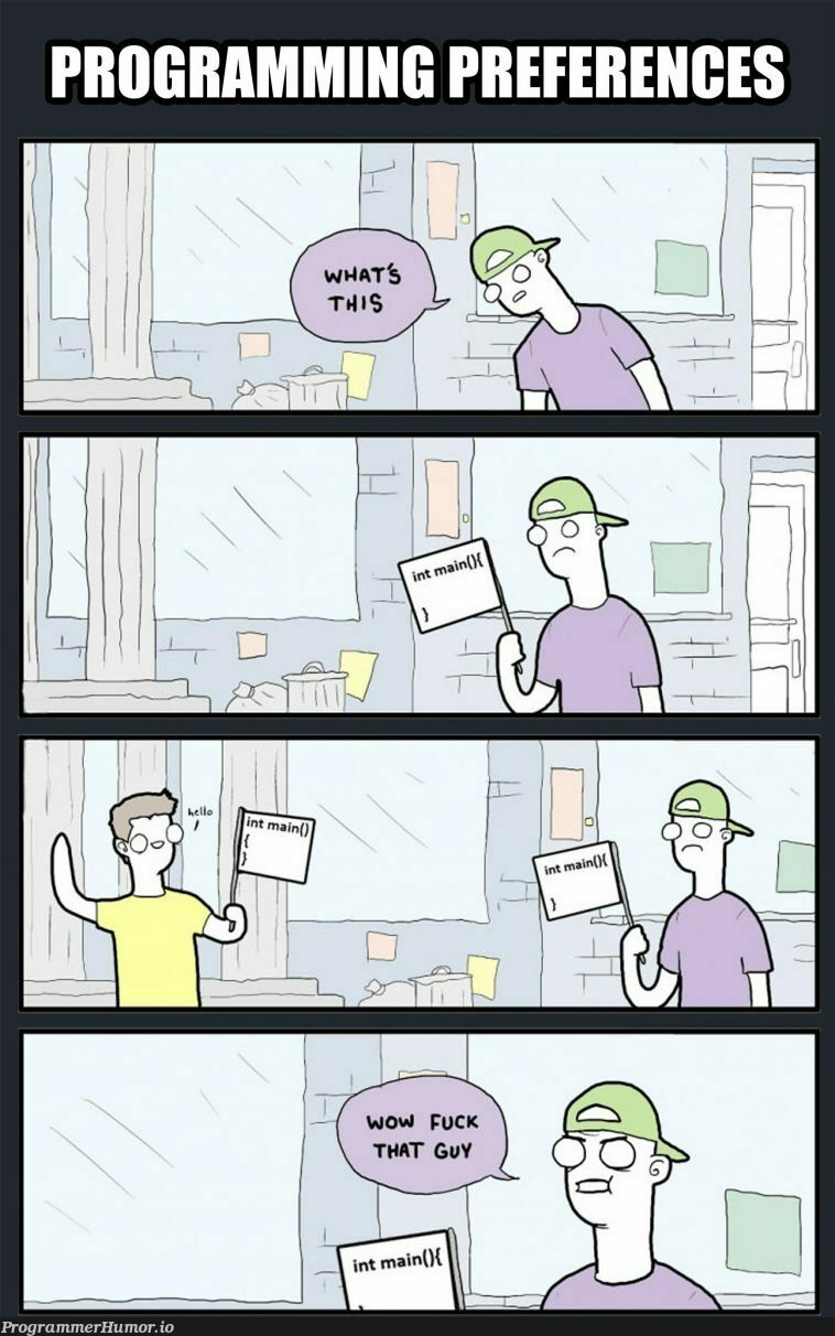 If you want a break from the sliders | ide-memes | ProgrammerHumor.io