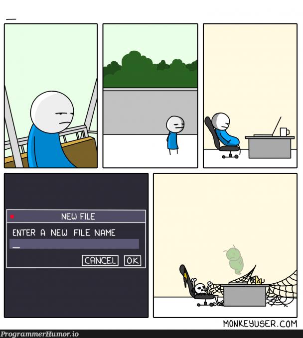 Hardest thing in programming? | programming-memes, program-memes | ProgrammerHumor.io