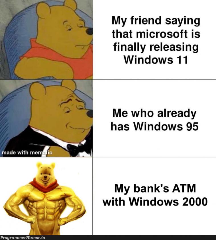 you're due for an upgrade | windows-memes, microsoft-memes | ProgrammerHumor.io