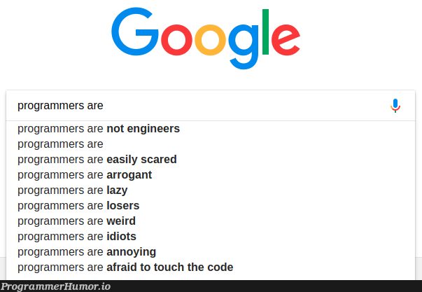 google hates us | programmer-memes, code-memes, engineer-memes, program-memes, google-memes | ProgrammerHumor.io