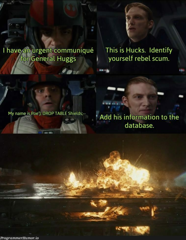 I hear this is the sub for sequel memes?   data-memes, database-memes, ide-memes, tables-memes   ProgrammerHumor.io
