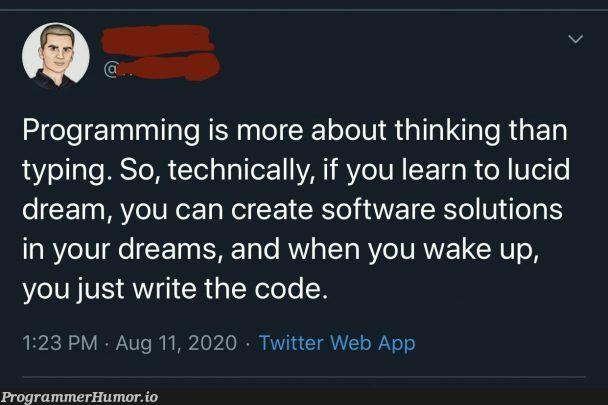 This is how you break the matrix | programming-memes, software-memes, code-memes, tech-memes, web-memes, program-memes, twitter-memes | ProgrammerHumor.io