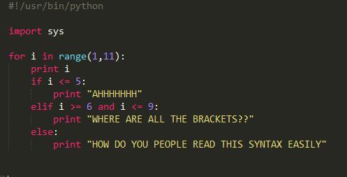 I wrote my first python program today!   python-memes, program-memes   ProgrammerHumor.io